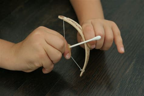 bow and arrow craft for the brooding hen tiny bow arrow