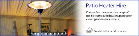 patio heaters hire patio heater hire event hire uk