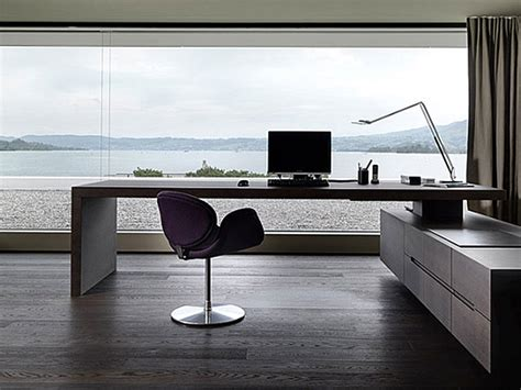 modern contemporary office desk modern home office modern house
