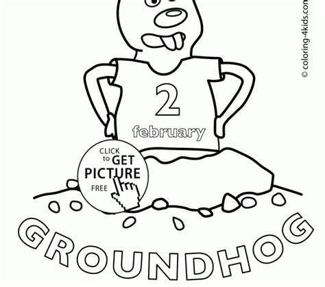 groundhog day happy day groundhog day coloring page coloring europe