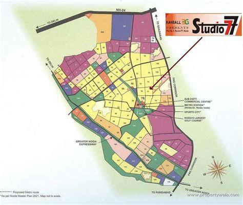 Flooring Plan kanball 3g sector 77 noida residential project