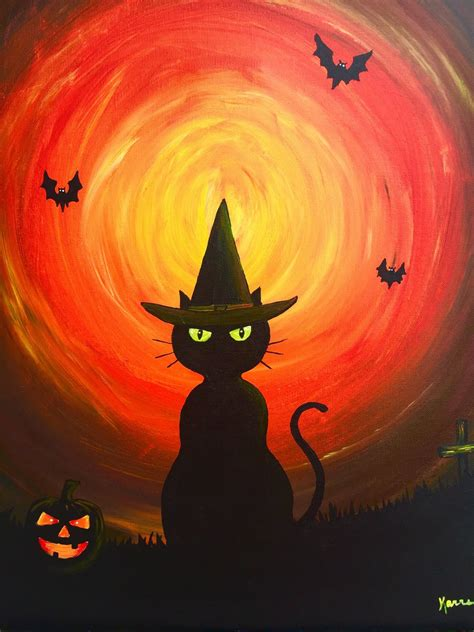 paint nite durham witch themed decorations mejorstyle