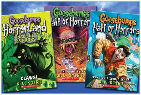 list of goosebumps books with pictures r l stine s goosebumps books forums and more