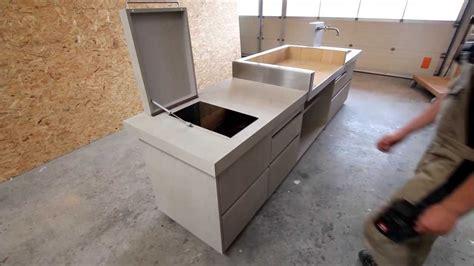 spülbecken abdeckung holz outdoor k 252 che in betonoptik www schreinerei aumueller