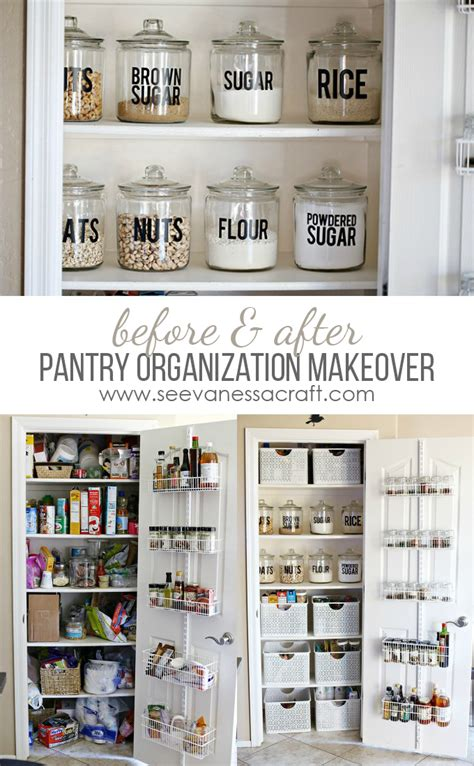 apartment kitchen storage ideas organization small pantry makeover see craft