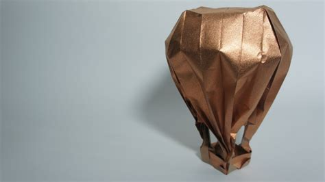 origami air balloon origami air balloon jason