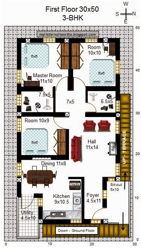 40x60 Floor Plans my little indian villa