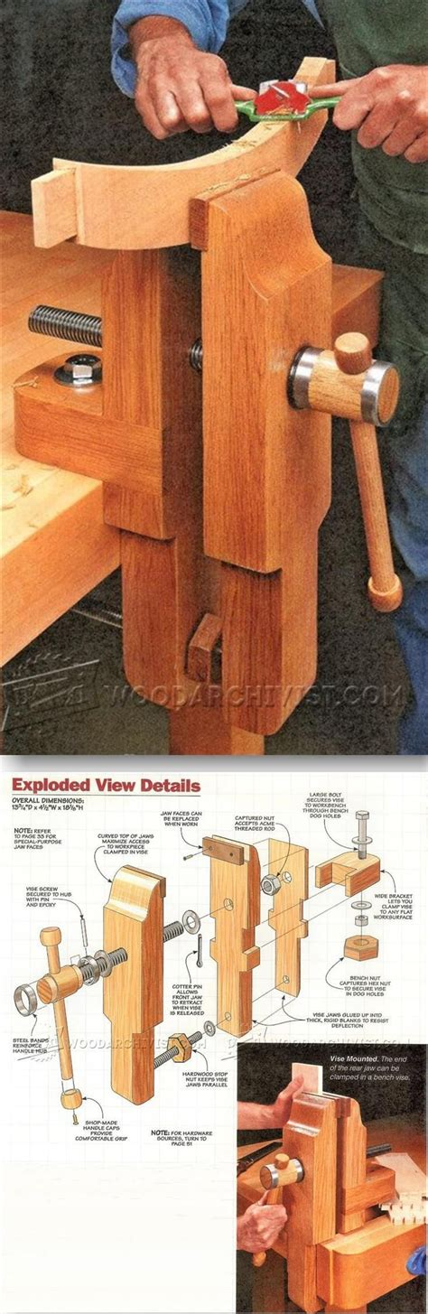 woodworking bench vise plans 462 best workshops work spaces and workbenches images on