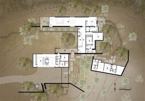desert home plans lake flato architects desert house in santa fe