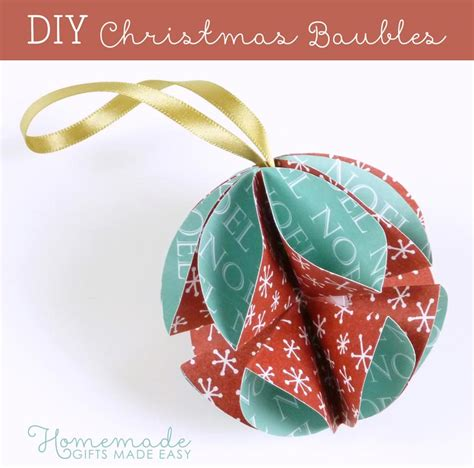 decorations made at home simple ornaments