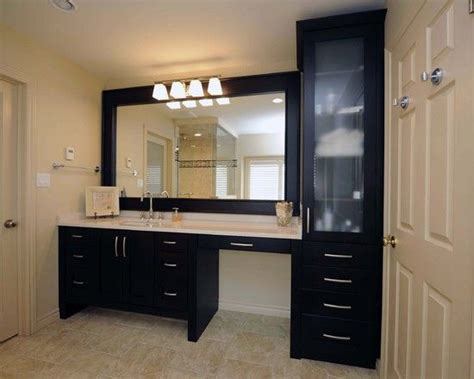bathroom cabinets with makeup vanity sink makeup vanity same height the drawers and