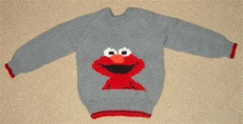 elmo knitting pattern knitassassin elmo sweater