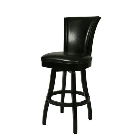 Black Leather Swivel Bar Stools glenwood 30 quot swivel bar stool in black qlgl219227865