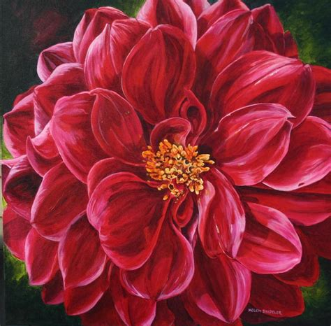 acrylic painting flowers canvas 17 best ideas about acrylic painting flowers on