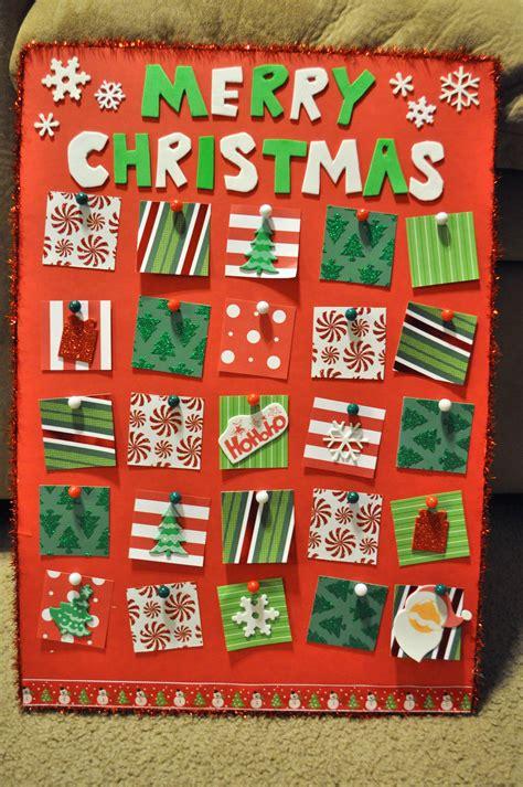 advent calendar craft for advent calendar activities for