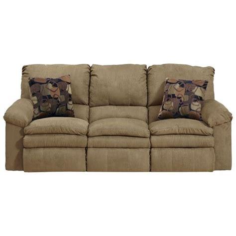 catnapper reclining sofas catnapper impulse reclining fabric sofa in cafe