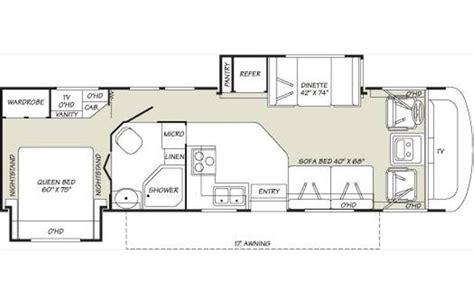 tioga rv floor plans 2007 fleetwood tioga 31m photos details brochure floorplan