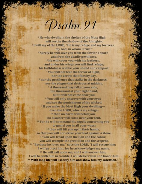 movieword psalm 91 11 memory verse