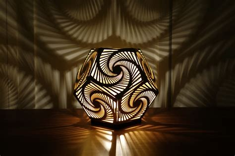 and lights cozo sacred geometry lights and sculptures