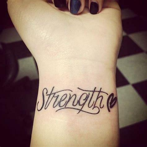 40 nice one strength letters tattoos on wrist golfian com