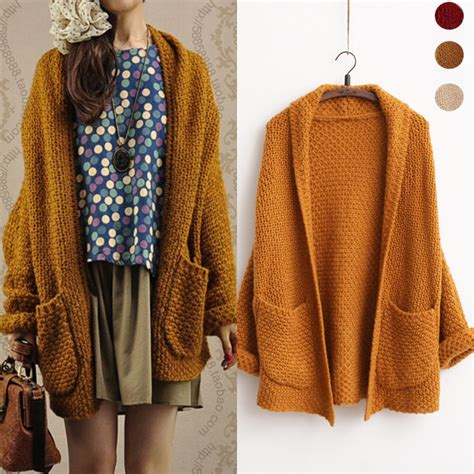 how to wear a knitted cardigan aliexpress buy winter sweaters 2015 autumn