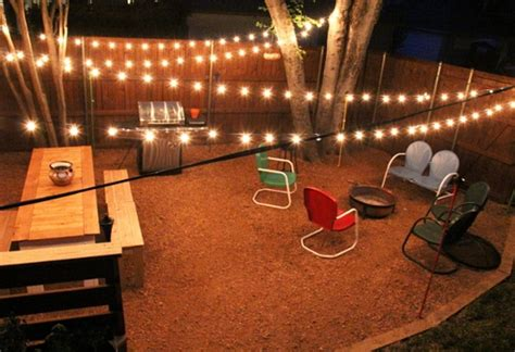 patio string light ideas outdoor led string lights battery operated