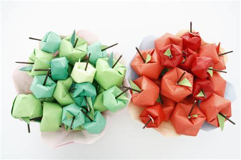 origami apple origami apple tree apples many apples folded in