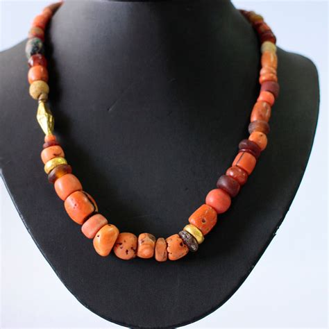coral for jewelry ancient coral necklace coral bead necklace coral
