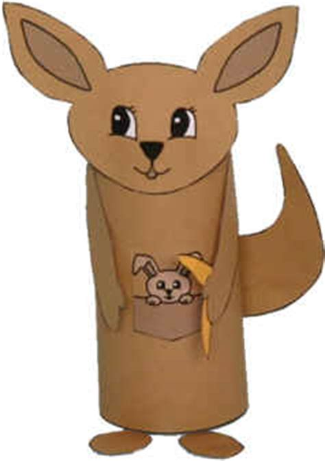 dltk toilet paper roll crafts kangaroo toilet paper roll craft