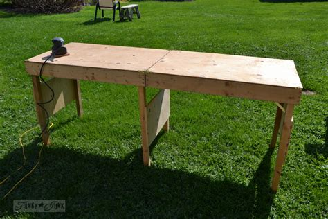 portable woodworking bench a portable collapsible workbench every diyer needsfunky