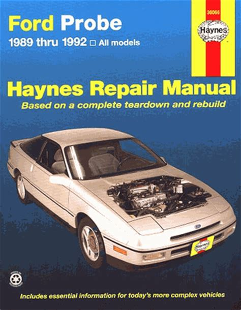 automotive repair manual 1997 ford probe auto manual haynes ford probe manual download