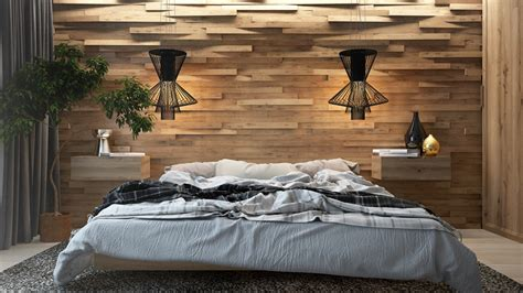 woodwork in bedroom wooden wall designs 30 striking bedrooms that use the