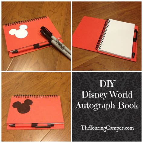 creating a picture book diy disney autograph book