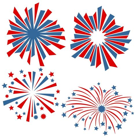 How To Set A Formal Table fourth of july fireworks designs svg cuttables