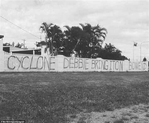 spray painter course qld queenslanders ask category 4 cyclone debbie to bring it on