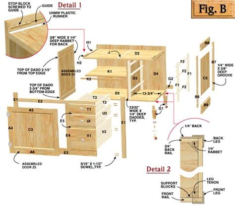 kitchen cabinet woodworking plans diy free plans for building kitchen cabinets plans free