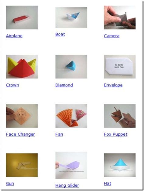 origami websites 5 free origami diagrams and websites