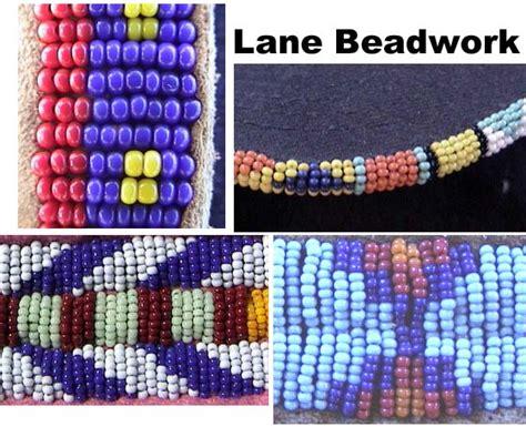 lazy stitch beading beadworking