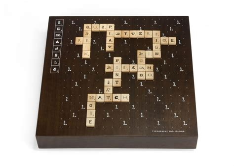 scrabble rule book scrabble typography 2nd edition by andrew capener