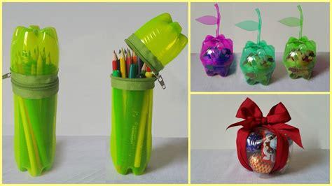 recycled plastic bottle crafts for 10 tutos pour donner une seconde vie 224 vos bouteilles en