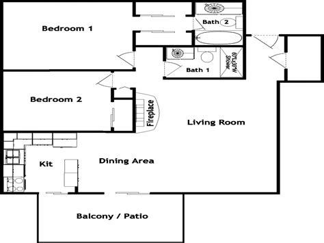 2 bedroom 2 bath mobile homes mobile home floor plans 2 bedroom bathroom