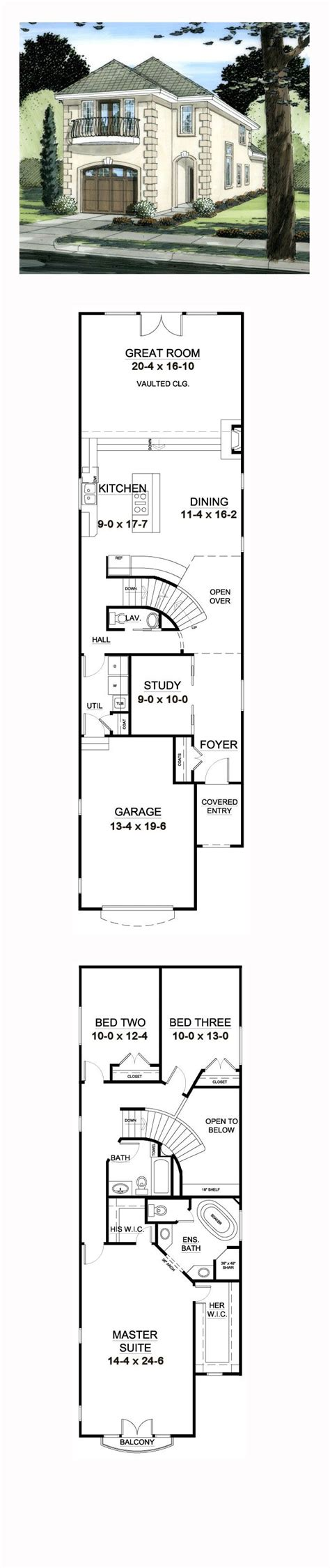 house floor plans for narrow lots best 25 narrow house plans ideas on narrow