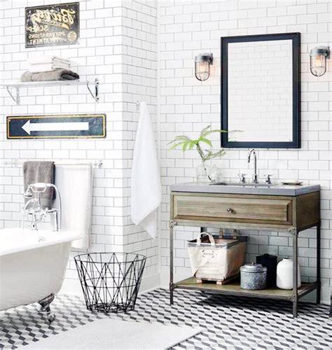 vintage modern bathroom vintage and retro style bathroom ideas