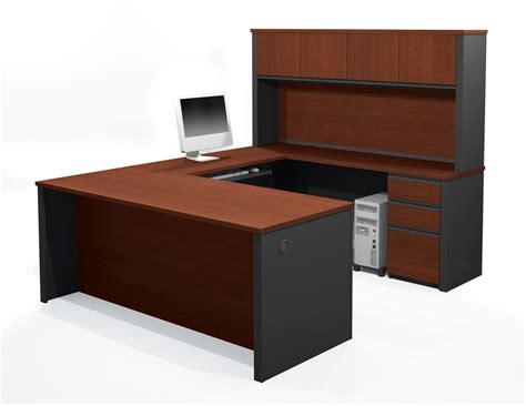 u shaped desk cheap small desk with hutch desk design cheap u shaped desks