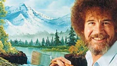 bob ross paintings on display bob ross show opens tonight inside vancouver
