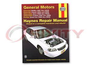 free car repair manuals 1997 pontiac grand am free book repair manuals pontiac grand am haynes repair manual se2 gt gt1 se1 shop service garage boo qn ebay