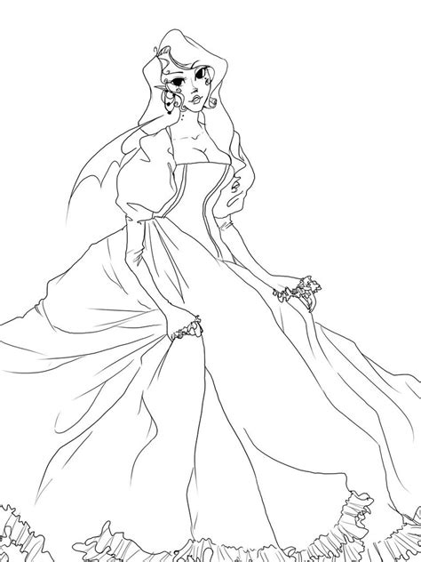 vampire princess line art by dark sprinkles01 on deviantart