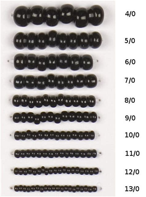 bead size guide seed bead sizes 8beads seed bugle 2 cut
