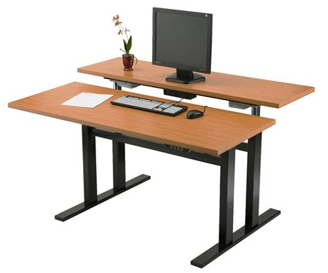 adjustable desktop standing desk diy adjustable computer desk for standing plans free
