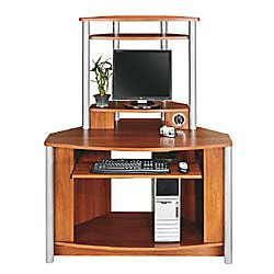 office depot corner computer desk citadel corner computer desk with integrated usb hub 60